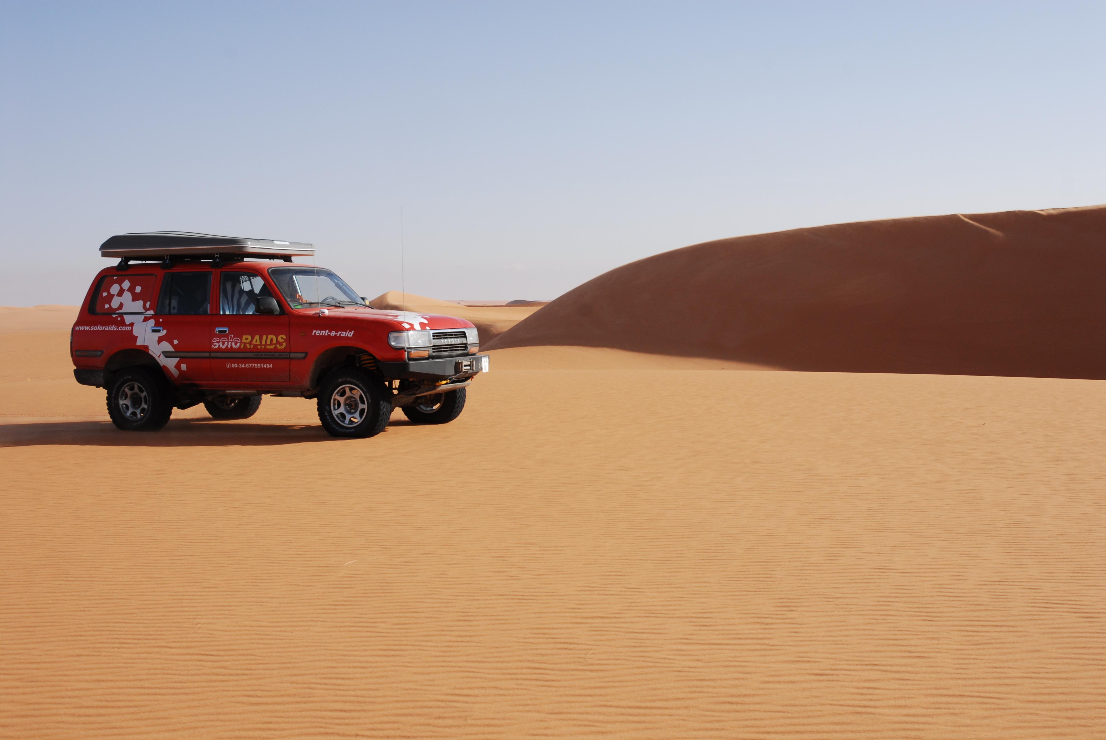 Soloraids, Líbia 2008
