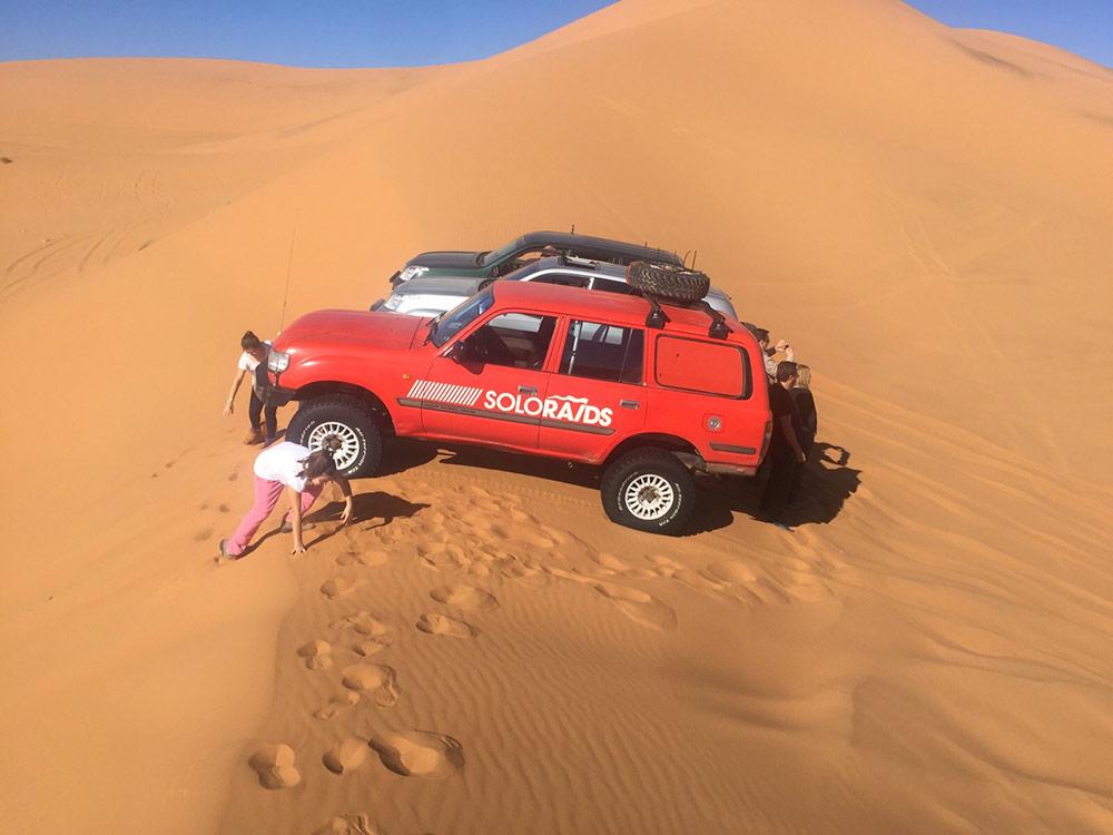dunes oasis paratges marroc