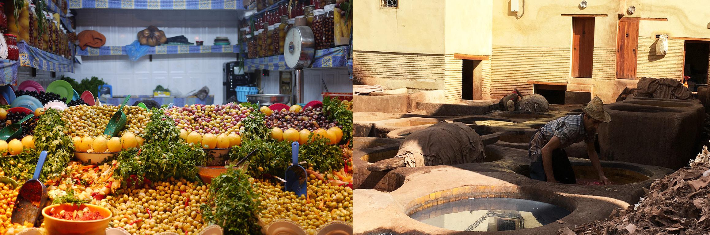 imatges de Fes i Marràqueix